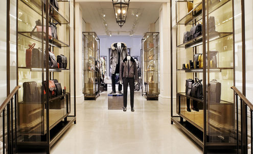 Men's luxury stores open with bespoke services