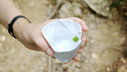 Be prepared: A palm-sized paper kit for campers