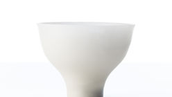 Touch of class: Nendo bowls that shiver in air