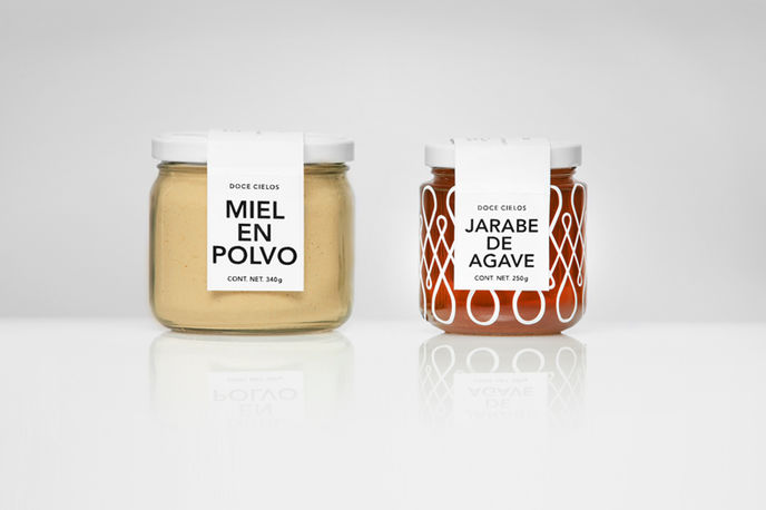 Dolce Cielos packaging by Anagrama, Mexico