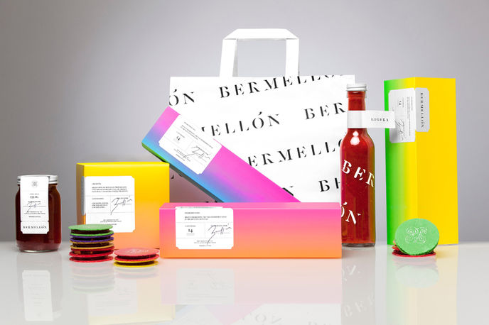 Bermellon Packaging, Anagrama
