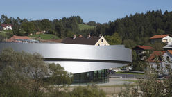 Curved space: Cultural centre lands in Slovenia