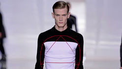 Circular logic: Symbolic logo for Dior menswear