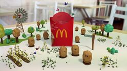On track: McDonald's app scans for food provenance