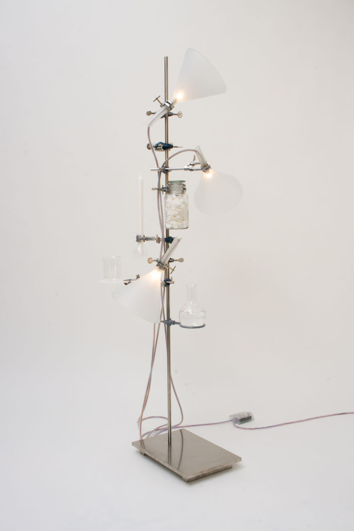 Chemie No. 6 light by Rolf Sachs