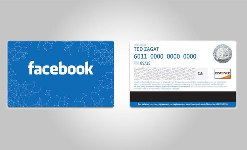 Facebook presents its new offline gift card