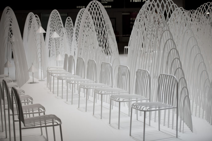 Nendo installation, Stockholm Furniture Fair