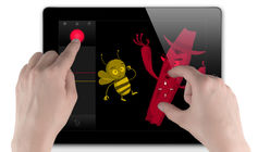 Magic touch: Art and animation at your fingertips