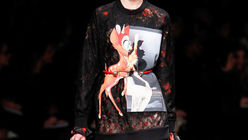 Cut and paste: Givenchy adopts half measures