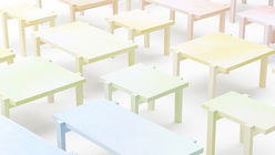 Pencilled in: Pastel aesthetic rubs off on Nendo