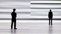 Visual line-up: Artist projects data as barcodes