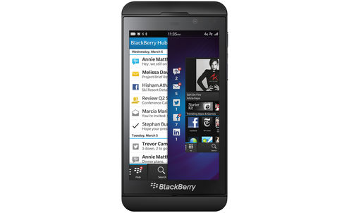 BlackBerry tries out brand-jacking for size