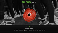 Running tracks: Nike app creates music on the go