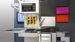 Eco-cooking: Vertical kitchen feeds sustainability