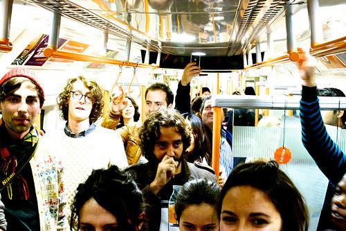 Sound Tracks On the train