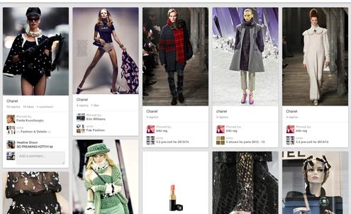 Chanel tops luxury brands on Pinterest