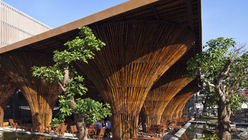 Branching out: Café creates bamboo canopy