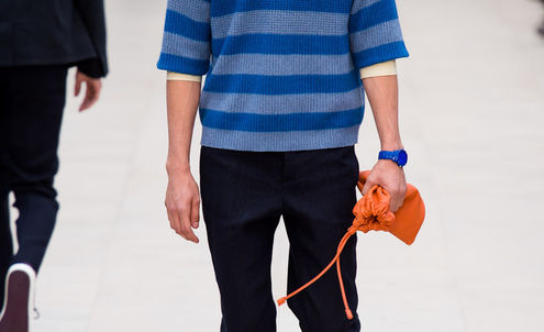 Menswear buyers hail textured sportswear and relaxed looks