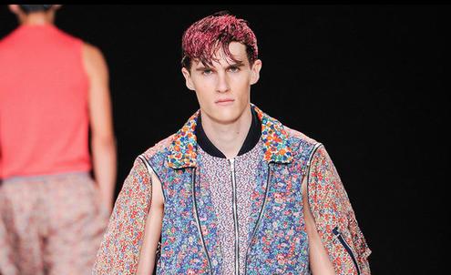 Men's fashion week S/S 14