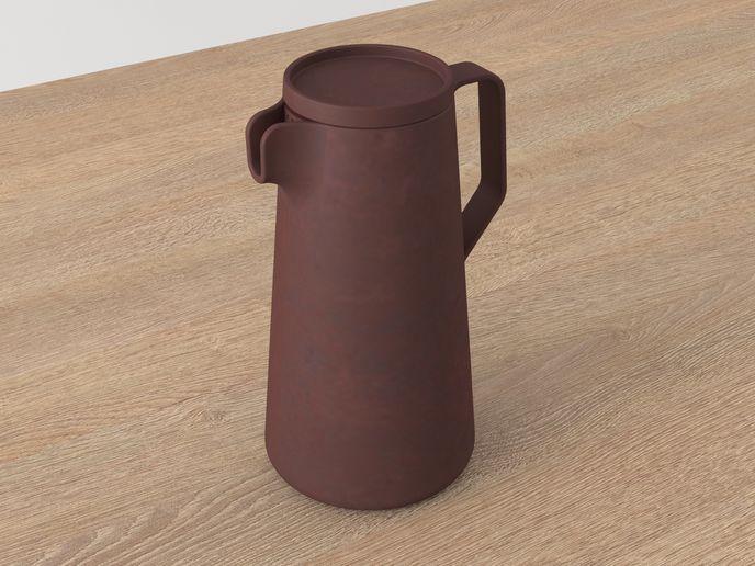 Unglazed tea set