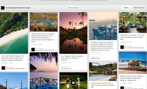 Four Seasons offers travel tips with Pin.Pack.Go