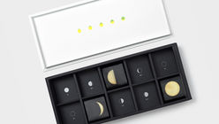 Full moon: Gift box fuses tradition with a modern aesthetic