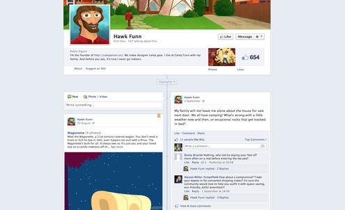 Start-up brings storytelling to social media