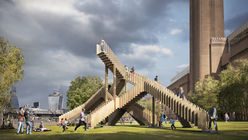 Step up: Endless Stair at London Design Festival