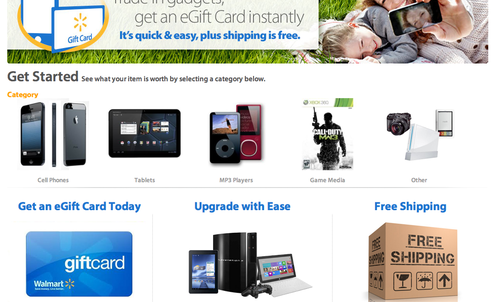 Walmart offers cash vouchers for old electronics