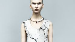 Marble look: Fashion label shapes up in New York