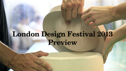 Sands of time: Malouin explores process for London Design Festival
