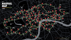 Nike inspires Londoners to walk with Fuel Map