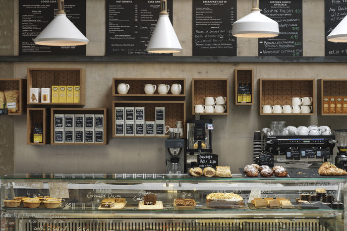 Cornerstone Cafè by Paul Crofts, London