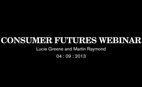 Consumer Futures Webinar
