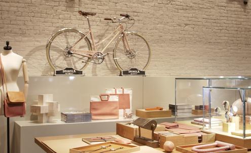 Retail analysis: Shinola's TriBeCa flagship store