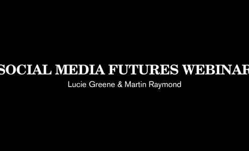 Social Media Futures Webinar