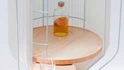 Whisky ceremony: Cabinet design heightens ritual