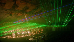 Laser rite: Artwork turns music into dazzling show
