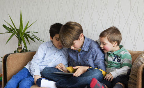 Children's television show debuts on tablets