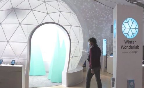 Google gets physical with Christmas pop-up shops