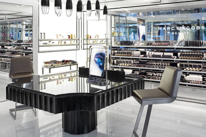 Marc Jacobs standalone beauty store, New York