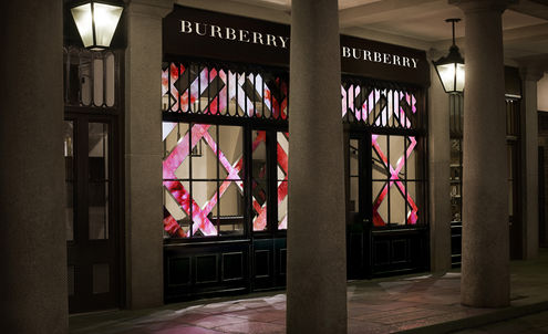 Burberry's latest store taps into beauty hotspot