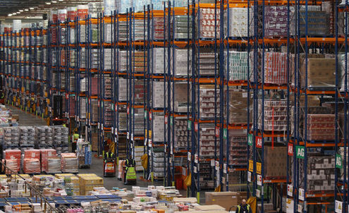 Supermarkets open warehouses to meet online demand