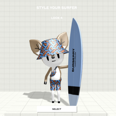 B Surf is Burberry's latest gaming experiment