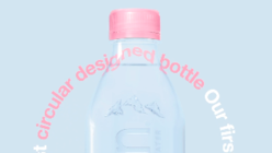 Evian introduces label-free plastic water bottles