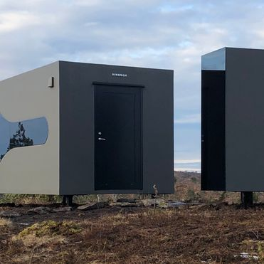 This remote office immerses workers in nature