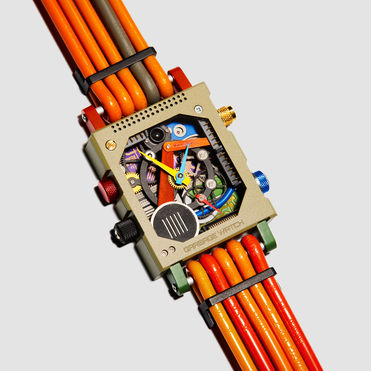 Vollebak's concept watch repurposes e-waste