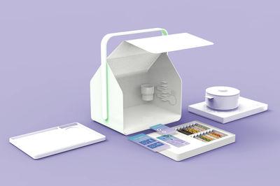 Portable Cooking Kit by Jisun Kim, Seoul