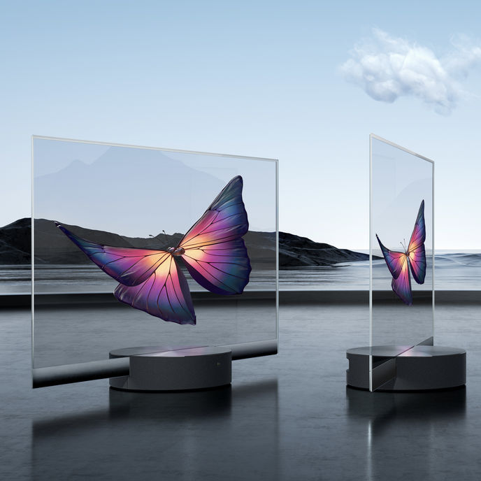 Mi TV LUX Transparent Edition by Xiaomi, Beijing