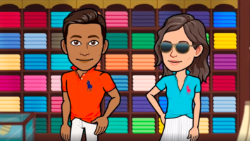 Ralph Lauren is selling luxe Bitmojis on Snapchat